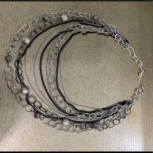 Multi strand necklace NWOT